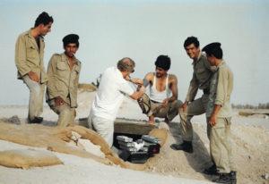 Hôpital souterrain (Guerre Iran - Irak - 1983)