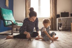 Calmer un enfant agité
