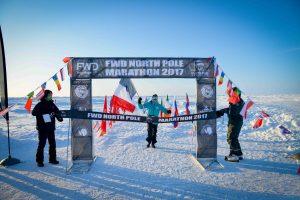 Frederique Laurent gagne la marathon du Pôle Nord
