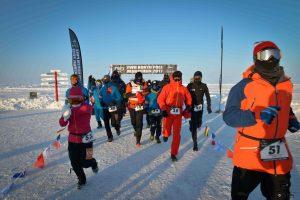 départ de la 15ème édition du marathon du Pôle Nord