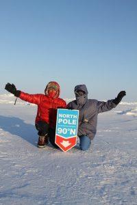 Frédérique et Christophe Lebrun, premier couple français, marathonien en conditions extrêmes sur tous les continents et aux 2 pôles