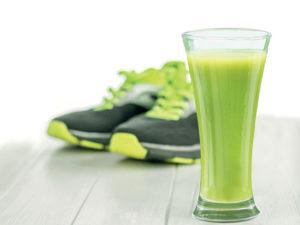 Sport, jeûne et jus de légumes