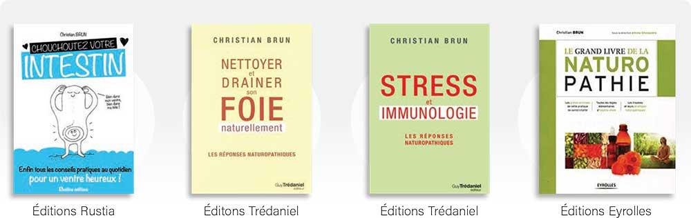 Les derniers ouvrages de Christian BRUN