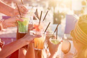 Soirées alcoolisées estivales