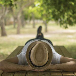 sieste dehors fatigue