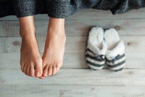 Froid par les pieds